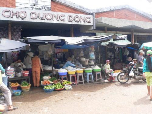 Hải sản Phú Quốc ở chợ Dương Đông