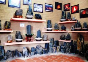 Hiện vật được trưng bày trong bảo tàng