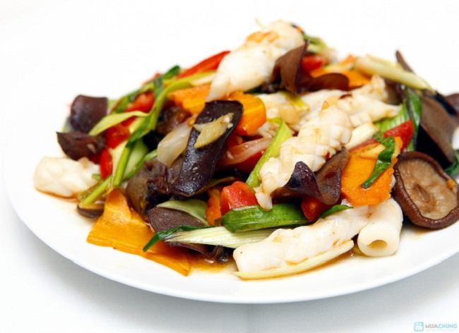 Món ăn hấp dẫn thực khách bởi vị thơm ngon